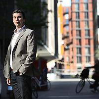 Nederland, Amsterdam , 27 september 2013.<br /> Martin Kloos, Social Strategist / Business Consultant at Social Embassy<br /> Foto:Jean-Pierre Jans