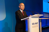 Ed Chan, president and CEO of Walmart China at a conference in Beijing.