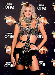 Nadiya Bychkova at the launch of Strictly Come Dancing 2018 held at The Broadcasting House, London.