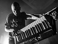Kaktus Einarsson of Icelandic new-wave band Fufanu at Iceland Airwaves