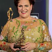 NLD/Scheveningen/20180124 - Musical Award Gala 2018, Marjolein Touw  wint de award voor Vrouwelijke bijrol Grote Musical