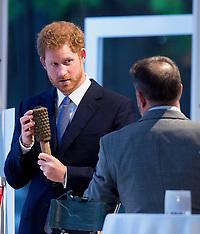 London: Prince Harry - 4 April 2017