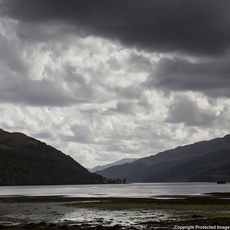Loch Long from Arrochar, Argyll & Bute, Scotland.