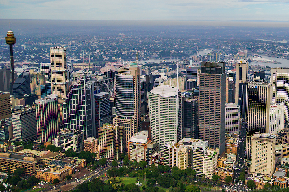 Eastern View of Sydney Skyline