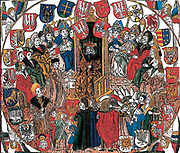 General assembly (Parliament or Stejm) of the kingdom of Poland meets to pass legislation. 1506