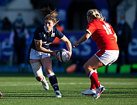 Rugby Union - 2021 Women's Six Name - Third Place Final - Scotland vs Wales - Scotstoun Stadium<br /> <br /> Helen Nelson of Scotland in action<br /> <br /> Credit: COLORSPORT/BRUCE WHITE