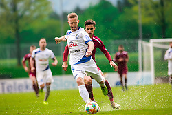 Tin KARAMATIC vs Ivan CRNOV during Football match between NK Triglav Kranj and NK Celje, on May 12, 2019 in Sport center Kranj, Kranj, Slovenia. Photo by Peter Podobnik / Sportida