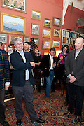 dan franklin; rory knight-bruce; marquis of normanby, Party to celebrate the publication of Animal Magic by Andrew Barrow. Tite St. London. 28 February 2011.  -DO NOT ARCHIVE-© Copyright Photograph by Dafydd Jones. 248 Clapham Rd. London SW9 0PZ. Tel 0207 820 0771. www.dafjones.com.