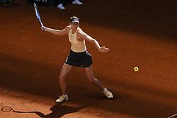 May 6, 2018 - Madrid, Spain - Maria Sharapova against Mihaela Buzarnescu during day two of the Mutua Madrid Open tennis tournament at the Caja Magica on May 6, 2018 in Madrid, Spain. (Credit Image: © Oscar Gonzalez/NurPhoto via ZUMA Press)
