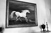 "19/08/1966<br /> 08/19/1966<br /> 19 August 1966<br /> Copy of ""Painting of Napoleon's Horse"" in the Drawing room of the U.S. Ambassador's Residence in the Phoenix Park, Dublin."