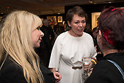 HELEN LEDERER, OLIVIA COLEMAN, JO BRAND,  Preview evening  in support of The Eve Appeal, a charity dedicated to protecting women from gynaecological cancers. Bonhams Knightsbridge, Montpelier St. London. 29 April 2019
