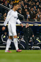 30.01.2013 SPAIN -  Copa del Rey 12/13 Matchday 1/4  match played between Real Madrid CF vs  F.C. Barcelona (1-1) at Santiago Bernabeu stadium. The picture show Jose Mourinho  coach of Real Madrid