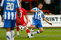 Danny O'Donnell. Kidderminster Harriers FC 1-1 Stockport County. Blue Square Bet Premier. 23.8.11
