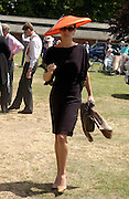 Georgina Rylance, Ascot, Wednesday 16 June 2004. ONE TIME USE ONLY - DO NOT ARCHIVE  © Copyright Photograph by Dafydd Jones 66 Stockwell Park Rd. London SW9 0DA Tel 020 7733 0108 www.dafjones.com