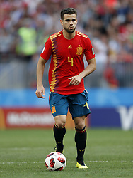Nacho Fernandez of Spain during the 2018 FIFA World Cup Russia round of 16 match between Spain and Russia at the Luzhniki Stadium on July 01, 2018 in Moscow, Russia