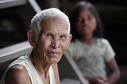 Vat Long is the elder of two sisters that still live alone in the village of Takom in Battambang province, Cambodia.