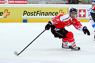 04.April 2012; Rapperswil-Jona; Eishockey - Schweiz - Finnland; Reto Suri (SUI)<br />  (Thomas Oswald)