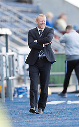 Falkirk's manager Gary Holt.<br /> Falkirk 2 v 1 Raith Rovers, Scottish Championship game played today at The Falkirk Stadium.<br /> © Michael Schofield.