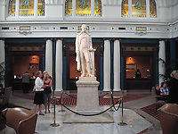 Thomas Jefferson, statue, lobby, Jefferson Hotel, Richmond, Virginia, USA, 200705200338.<br /> <br /> Copyright Image from Victor Patterson, Belfast, UK<br /> <br /> t: +44 28 9066 1296 (from Rep of Ireland 048 9066 1296)<br /> m: +44 7802 353836<br /> e: victorpattersonbelfast@gmail.com<br /> <br /> www.images4media.com<br /> <br /> Please see my full Terms and Conditions of Use at https://www.images4media.com/p/terms-conditions - it is IMPORTANT that you familiarise yourself with them.<br /> <br /> Images used online incur an additional cost. This cost should be agreed in writing in advance. Online images must be visibly watermarked i.e. © Victor Patterson or that of the named photographer within the body of the image. The original metadata must not be deleted from images used online.<br /> <br /> This image is only available for the use of the download recipient i.e. television station, newspaper, magazine, book publisher, etc, and must not be passed on to a third party. It is also downloaded on condition that each and every usage is notified within 7 days to victorpattersonbelfast@gmail.com.<br /> <br /> The right of Victor Patterson (or the named photographer) to be identified as the author is asserted in accordance with The Copyright Designs And Patents Act (1988). All moral rights are asserted.