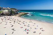 A beautiful autumn day at Tamarama Beach, Sydney, Australia.