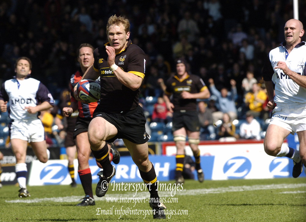 2005 Zurich Premiership Wild Card Play off London Wasps vs Sale Sharks, High Wycombe, ENGLAND:.Photo  Peter Spurrier. .email images@intersport-images...