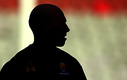 A silhouette of Peter Stringer of Worcester Warriors - Mandatory by-line: Robbie Stephenson/JMP - 12/11/2017 - RUGBY - Twickenham Stoop - London, England - Harlequins v Worcester Warriors - Anglo-Welsh Cup