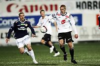 Fotball , 20. mars 2011 , Tippeligaen , Eliteserien ,<br /> Strømsgodset - Sogndal 2-1<br /> <br /> <br /> Per Egil Flo , Sogndal<br /> Øyvind Storflor , SIF