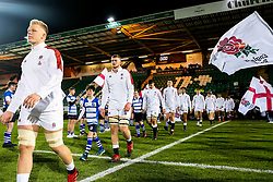 George Hammond of England U20 - Rogan/JMP - 21/02/2020 - Franklin's Gardens - Northampton, England - England U20 v Ireland U20 - Under 20 Six Nations.