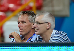 28-09-2014 ITA: World Championship Volleyball Mexico - Nederland, Verona<br /> Nederland wint met 3-0 van Mexico / Media journalist Telegraaf Willem en Volkskrant Robert
