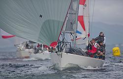 Caledonia MacBrayne Largs Regatta Week 2016<br /> <br /> GBR9292C, Wildebeest V, Craig Latimer, RWYC, J92<br /> <br /> Credit Marc Turner / PFM Pictures.co.uk