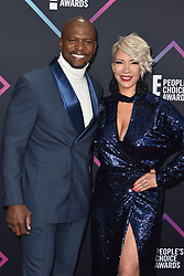Rebecca King-Crews, Terry Crews attend the People's Choice Awards 2018 at Barker Hangar on November 11, 2018 in Santa Monica, CA, USA. Photo by Lionel Hahn/ABACAPRESS.COM