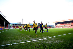 Bristol Rovers warm up a Walsall - Mandatory by-line: Robbie Stephenson/JMP - 07/11/2020 - FOOTBALL - Banks's Stadium - Walsall, England - Walsall v Bristol Rovers - Emirates FA Cup First Round