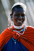 Smile, Maasai Tribe woman