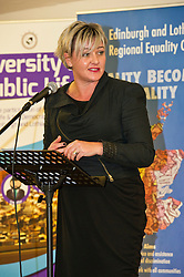 Pictured: Drummond Communitry High School head teacher Jodie Hannan<br /> <br /> SNP Brexit minister Mike Russell spoke at an Edinburgh and Lothians Regional Equality Council event which aimed to facilitate discussion between service providers in the public and third sectors, and asylum seekers and refugees in order to hear about the circumstances and needs.<br /> <br /> Ger Harley | EEm 6 December 2016