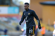 Nelson Semedo (22) of Wolverhampton Wanderers warms up during the Premier League match between Wolverhampton Wanderers and West Bromwich Albion at Molineux, Wolverhampton, England on 16 January 2021.