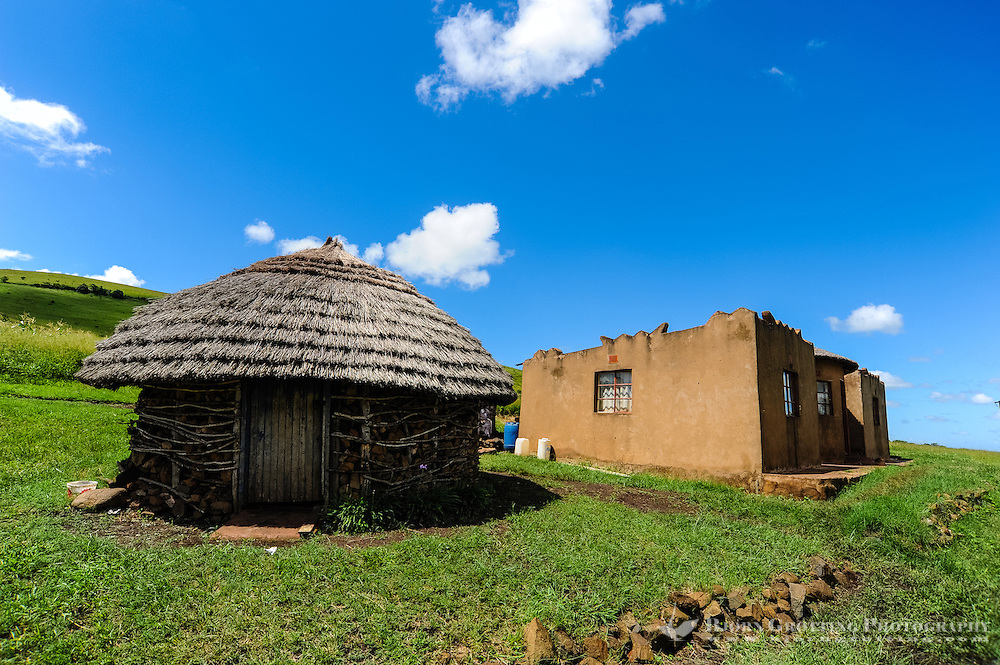 Visiting a small Zulu village near Hluhluwe in the KwaZulu-Natal province, South Africa.