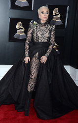 Lady Gaga arriving on the red carpet at the 60th Annual Grammy Awards ceremony at Madison Square Garden in New York City on January 28, 2018. The CBS network will broadcast the show live from Madison Square Garden in New York City. It will be the first time since 2003 that the ceremony will not be held in Los Angeles. Photo by Dennis Van Tine/ABACAPRESS.COM  | 623652_015 New York City Etats-Unis United States