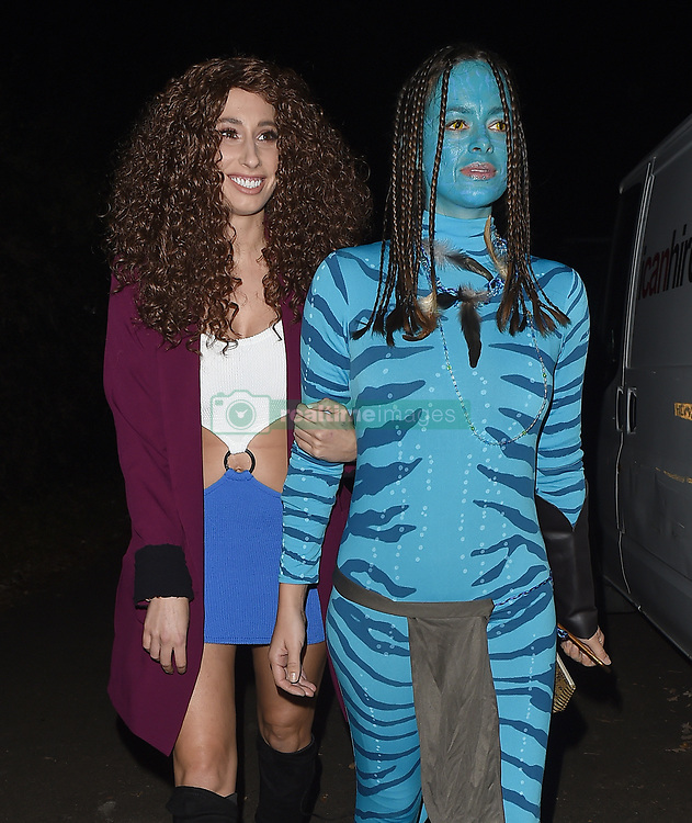 Celebrities attend an annual Halloween party, held at the Hampstead home of talk show host Jonathan Ross. 31 Oct 2017 Pictured: Stacey Solomon. Photo credit: Will / Craig / MEGA TheMegaAgency.com +1 888 505 6342