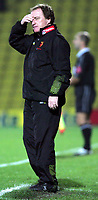 Fotball<br /> Foto: SBI/Digitalsport<br /> NORWAY ONLY<br /> <br /> Watford v Sunderland<br /> The Coca-Cola Football League Championship<br /> Vicarage Road.<br /> 19/10/2004<br /> <br /> Watfords manager Ray Lewington