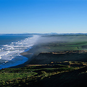 The Pacific Ocean crashes ashore at Point Reyes National Seashore, CA.