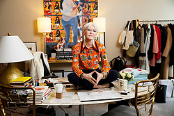 EXCLUSIVE: Joanna Coles, Chief Content Officer at Hearst Magazines, is pictured in her office on April 10, 2018. Her new book entitled Love Rules, about dating in the modern age, is out on shelves today. ***NO NEW YORK DAILY NEWS, NO NEW YORK TIMES, NO NEWSDAY***. 10 Apr 2018 Pictured: Joanna Coles. Photo credit: Annie Wermiel/NY Post / MEGA TheMegaAgency.com +1 888 505 6342