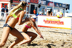 20150828 NED: NK Beachvolleybal 2015, Scheveningen<br />Kwalificaties NK Beachvolleybal 2015, Fuerra Everaert, dochter van Michel Everaert