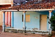 House in Vinales, Pinar del Rio, Cuba.