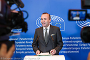 Press point by Manfred WEBER, chair of EPP group