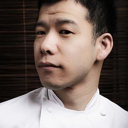 PARIS, FRANCE. APRIL 12, 2011. Chef Shinichi Sato at Passage 53, restaurant. (photo: Antoine Doyen)