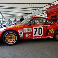 #70, Porsche 935, driven by Brian Redman, Goodwood Festival of Speed 2015