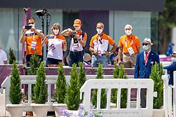 Team Netherlands, Kees Alblas, Boonzaaijer Ria, Rick Hilhorst, Jeroen Hulsman, Blom <br /> Olympic Games Tokyo 2021<br /> © Hippo Foto - Dirk Caremans<br /> 29/07/2021