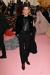 Rami Malek attends The 2019 Met Gala Celebrating Camp: Notes on Fashion at Metropolitan Museum of Art on May 06, 2019 in New York City.<br /> Photo by ABACAPRESS.COM