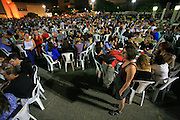 "Israel, Tel Aviv, Thousands of Israelis participate the ""1000 tables"" event in Tel Aviv. On Sep 10, 2011.  Social and political discussions took place at this democracy display in different cities as a part of the continuing protest for social justice."