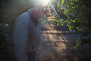 Robert Weimer is farmer in Merced County near Atwater, CA. He primarily grows almonds, sweetpotatoes and peaches. Bob, as he is generally known, has made significant investments in water efficiency over the years, and applies scientific rigor throughout his operation. The sole source for above-ground water in his area is Lake McClure, which is perilously low. Historically, the region has primarily relied on groundwater. Now that is more the case then ever.